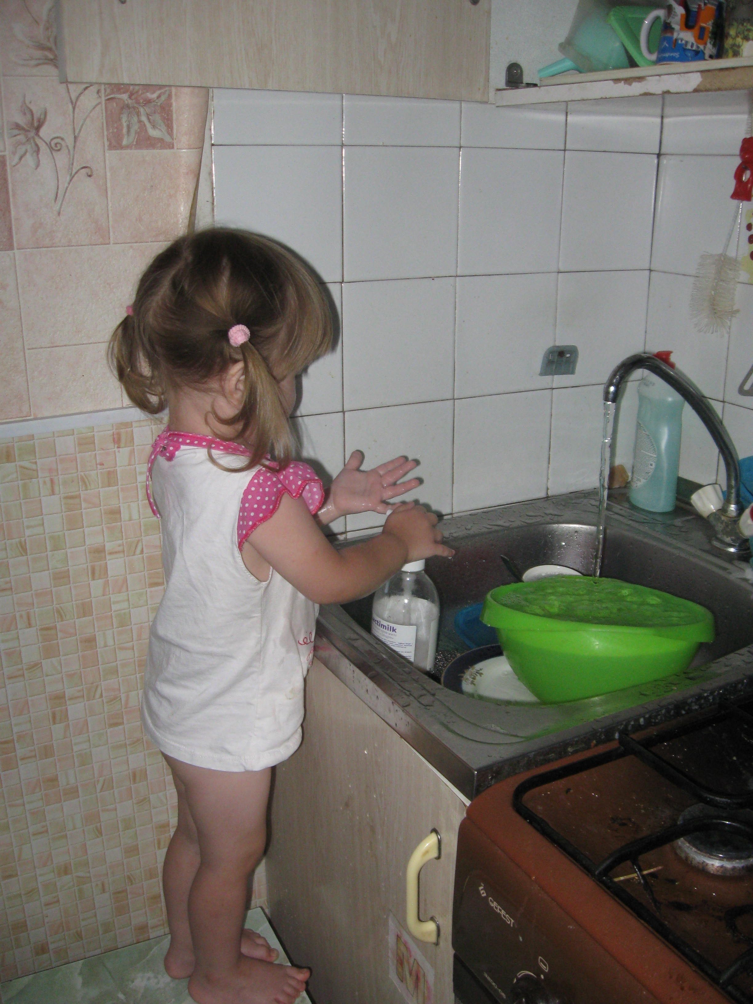 let's do the washing-up