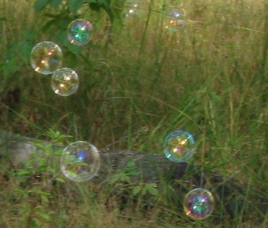 мыльные пузыри по-английскт